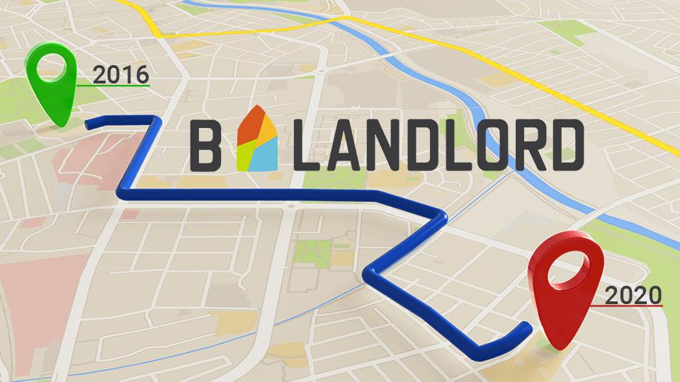 roadmap van blandlord 4 jaar